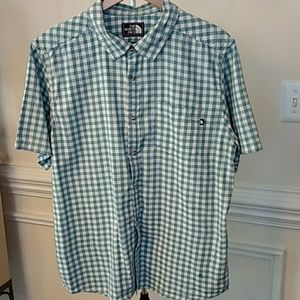 North Face Button Shirt Size XL